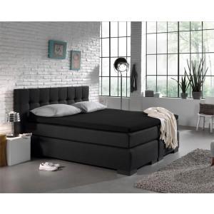 Jersey Topper Hoeslaken Black