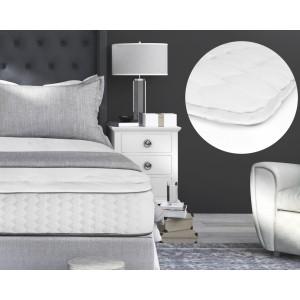 3D AIR Hotel Mattress Topper White