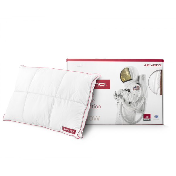 Vinci Micropercal Deluxe Classic Pillow White #1