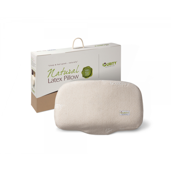Natural Latex Anatomic Pillow Cream #6